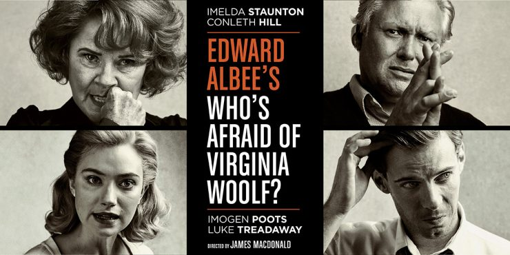 London National Theatre: Who's Afraid of Virginia Woolf?