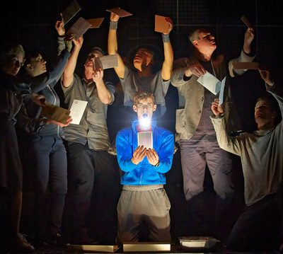 London National Theatre: The Curious Incident of the Dog in the Night-time